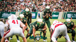 Stony Brook vs. South Florida Highlights 2017 Instagram Cover Image by Matthew Manuri | SoFloBulls.com (1920x1080)
