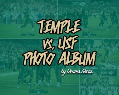Temple vs USF 2017 Photo Album by Dennis Akers | SoFloBulls.com