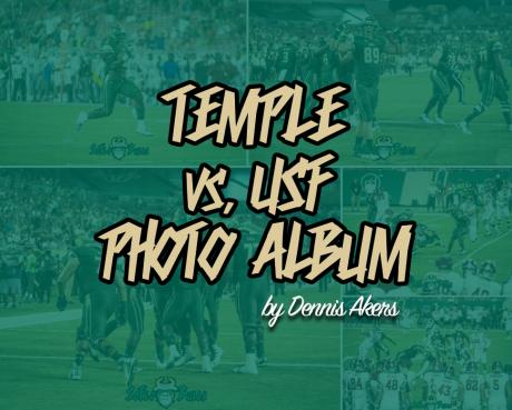 Temple vs USF 2017 Photo Album by Dennis Akers | SoFloBulls.com