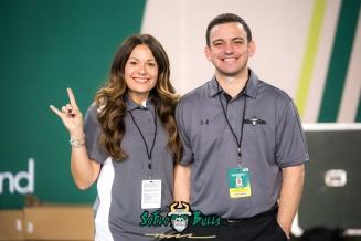 58 - Cincinnati vs. USF 2017 - SoFloBulls Reporters Matthew Manuri & Stephanie Manuri by Dennis Akers | SoFloBulls.com (5520x3685)