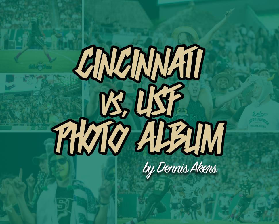 Cincinnati vs USF 2017 Photo Album by Dennis Akers | SoFloBulls.com