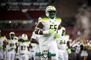 74 - Tulsa vs. USF 2017 - USF OL Eric Mayes Pre-Game by Dennis Akers | SoFloBulls.com (5662x3780)