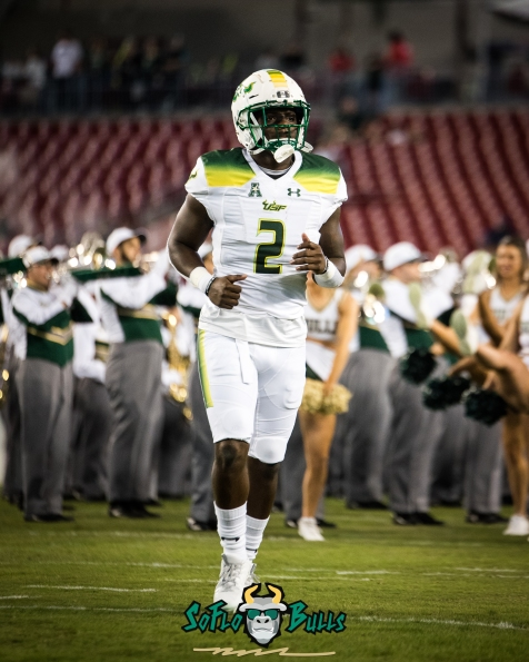 79 - Tulsa vs. USF 2017 - USF RB D'Ernest Johnson Pre-Game by Dennis Akers | SoFloBulls.com (3303x4129)