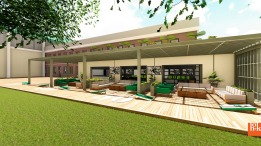 USF Football Center Rendering Players Lounge Patio Image - SoFloBulls.com (3840x2160)