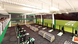 USF Football Center Rendering Weight Room Image - SoFloBulls.com (3840x2160)